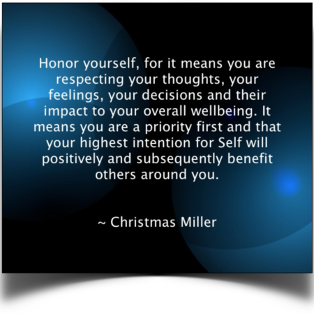 Christmas Quote_Honor Yourself