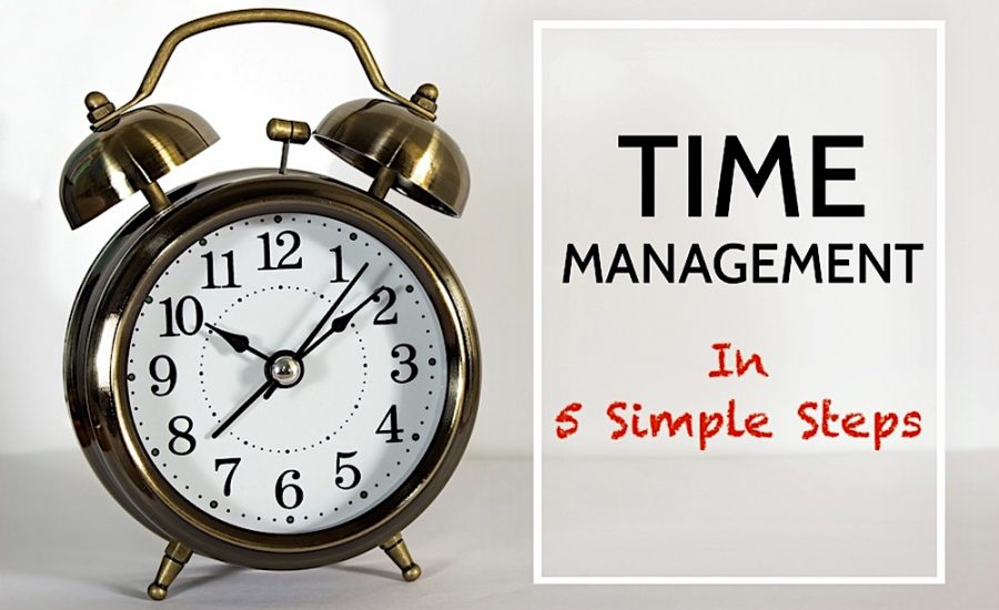 5 Simple Steps to Time Manage Your Life