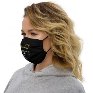 Negativity Doesn't Discriminate Premium Face Mask