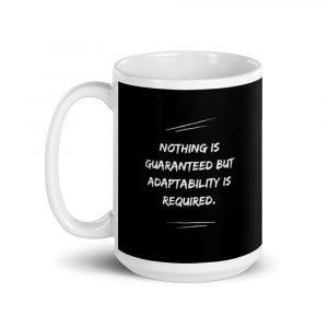 Nothing Is Guaranteed Mug 15 oz