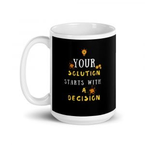 Your Solution Mug 15 oz