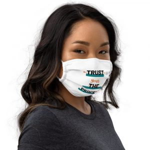 Trust Your Process Premium Face Mask
