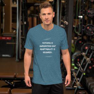 Nothing Is Guaranteed Short-Sleeve Unisex T-Shirt